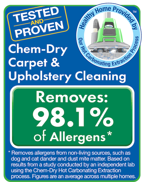 tested and proven for carpet and upholstery cleaning