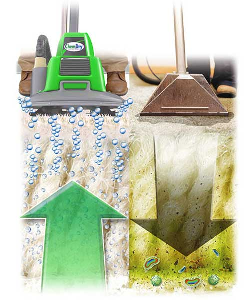chem-dry carpet cleaning process compared to steam cleaning carpet cleaning