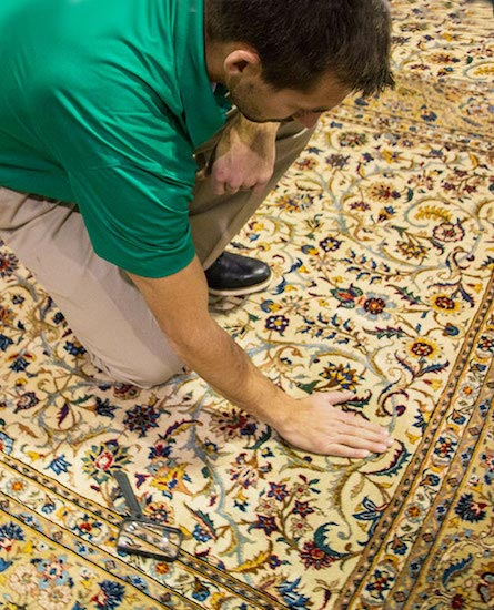 area rug cleaning by chem-dry